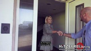 GERMAN MILF Fucks Young Stud (HITZEFREI.dating)