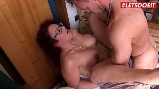 Horny German Grannies Get Fucked By a Young Guy – LETSDOEIT.COM