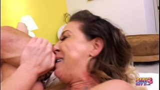 Blonde mom loves getting her ass fucked by Ramon Nomar.