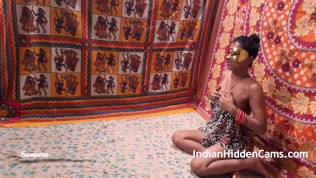 Indian Bhabhi Horny For Rough Sex Playing With Her Tight Pussy