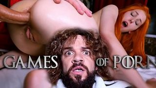 Lady Sansa from GameOfThrones gets her holes fucked hard by Tyrion in Ep.4 of the hot porn parody GameOfPorn from a french porn actor and producer JM Corda