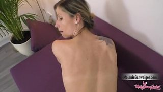 Hot blonde german girl gets awesome creampie