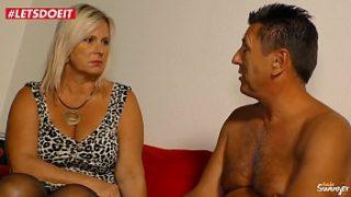 Curvy German Mom Screams Hard On Her Neighbor's Cock – LETSDOEIT.COM