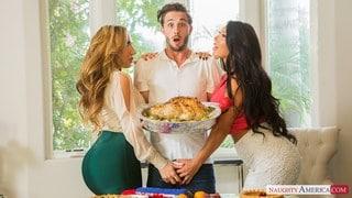 deux cougars une vierge Un miracle de Thanksgiving! ft. Richelle Ryan