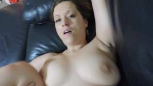 Balls deep in her pussy when I cum, she doesn't mind